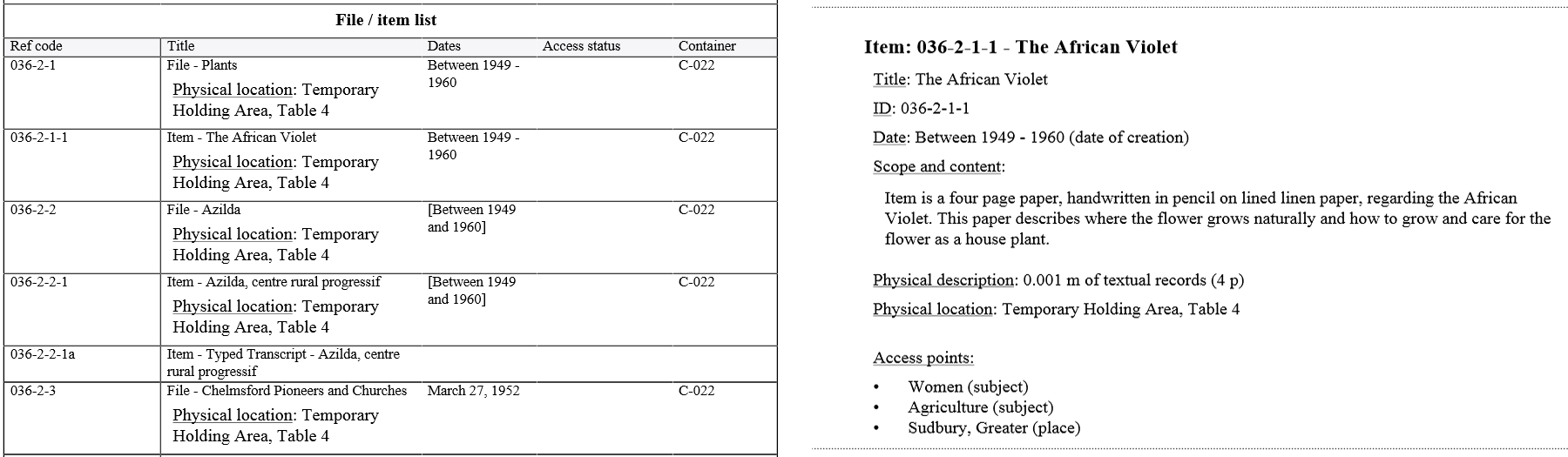 Generate, download, and print finding aids | Documentation ...