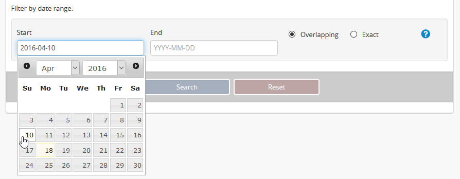 Advanced search | Documentation (Version 2 4) | AtoM: Open Source