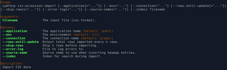 CSV import | Documentation (Version 2 3 1) | AtoM: Open