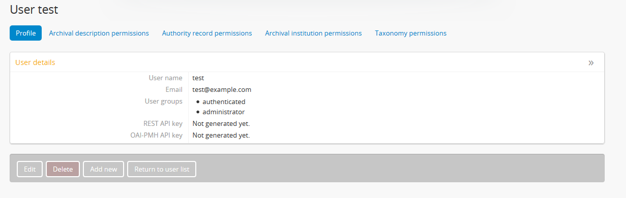 API Overview   Documentation (Version 2 3 1)   AtoM: Open